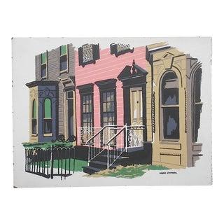 Vintage Mark Coomer Screenprint, New Orleans