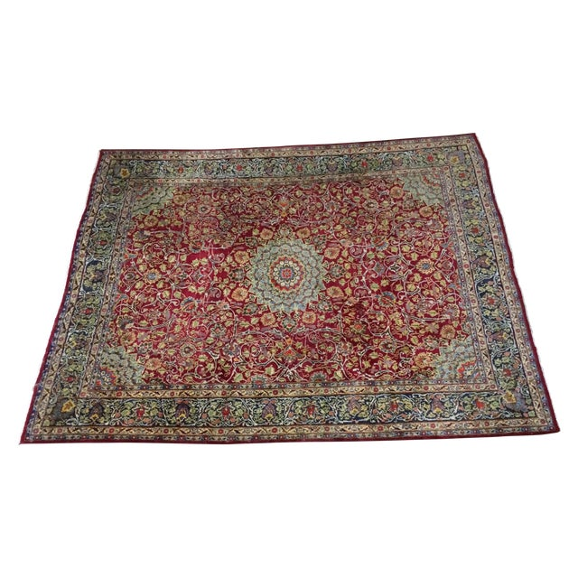 Large Traditional Persian Rug - 12′4″ × 9′6″ - Image 1 of 11