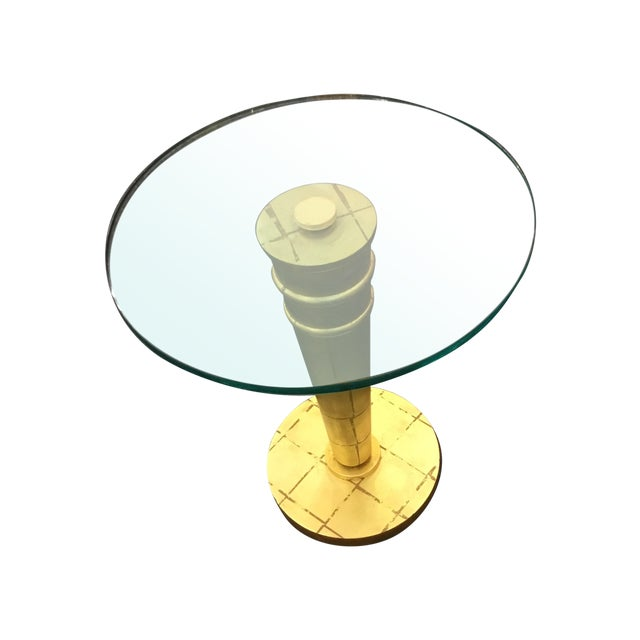 Hollywood Regency Cocktail Table - Image 1 of 4