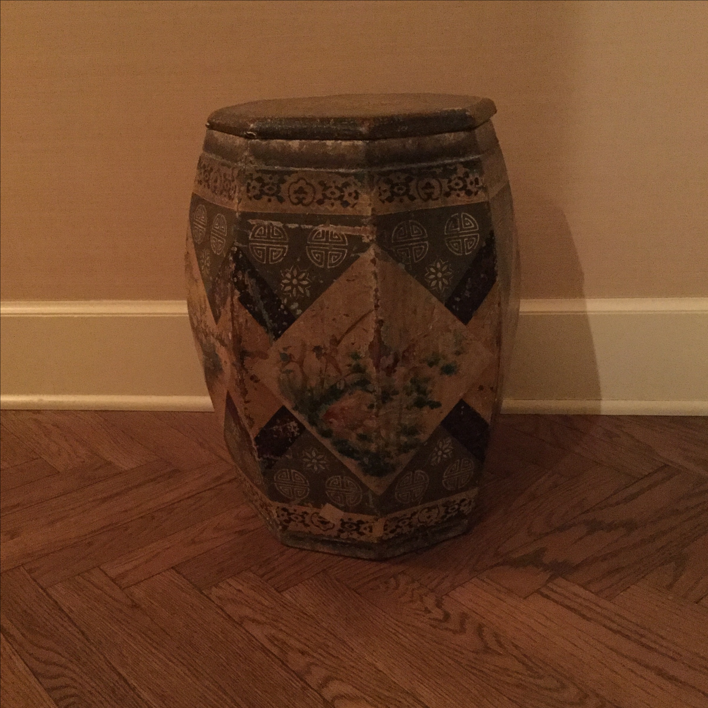 Antique Chinese Garden Stool Side Table Chairish
