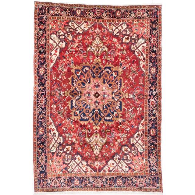 Heriz Vintage Persian Rug - 7′9″ × 11′5″ - Image 1 of 2