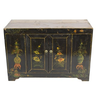 Chinese Antique Black Chest