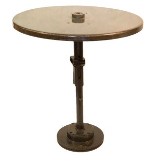 Reclaimed Industrial Bistro Table