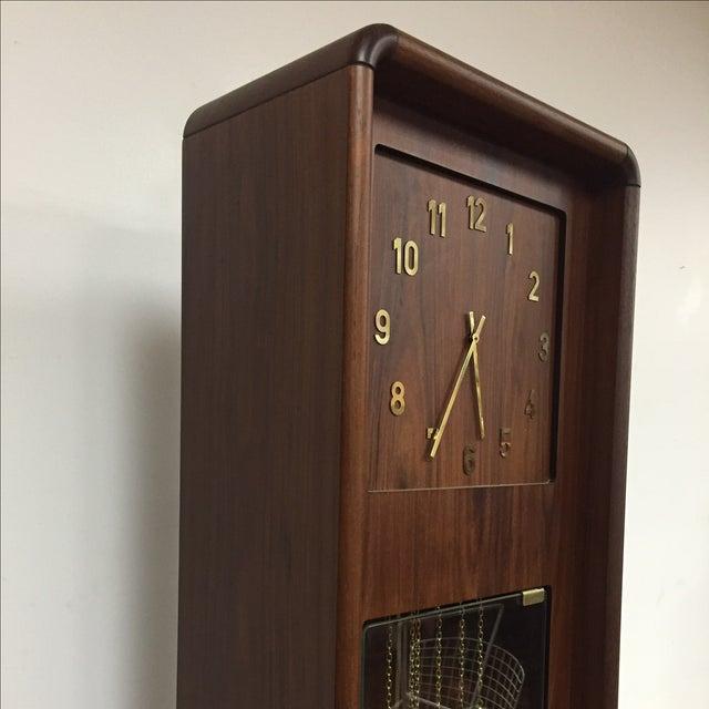Danish Modern Grandfather Clock - Image 3 of 8