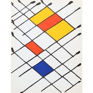 Alexander Calder, Damier, Lithograph