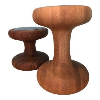 Autoban Mushroom Side Tables - A Pair
