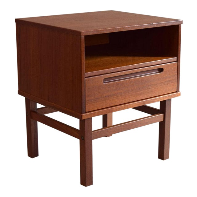 Nils Jonsson Teak Nightstand or Side Table - Image 1 of 8
