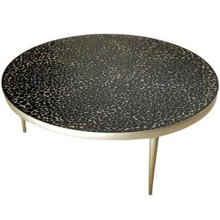 Mid-Century Mosaic Tile Coffee Table