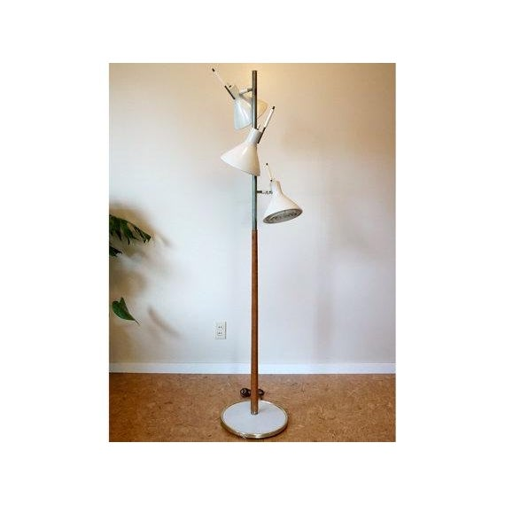 Image of Tomas Moser for Lightolier Mid-Century Floor Lamp