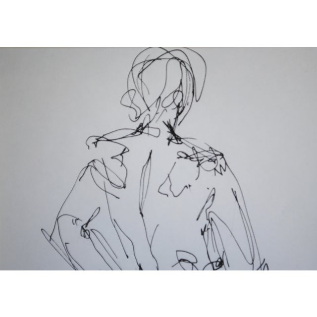 Mid Century Nude Drawing I by Paulina Jones Everitt - Image 4 of 4