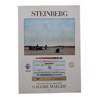 Vintage Poster Lithograph - Saul Steinberg
