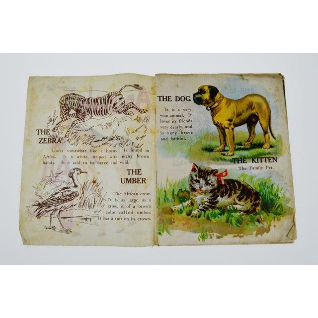 """Animals of All Lands"" Linen Children's Book - Image 3 of 11"