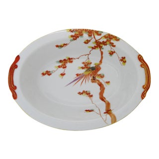 Japanese Porcelain Serving Bowl
