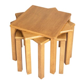 Mid-Century Stacking Tables - Set of 4
