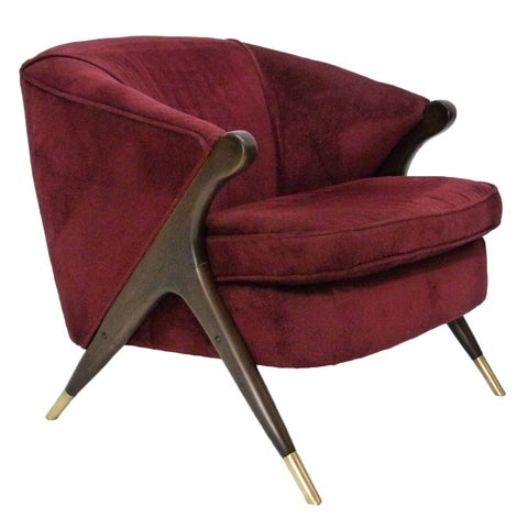 Image of Mid-Century Lounge Chair by Karpen