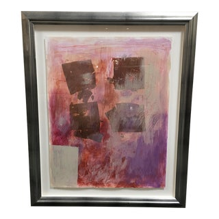 "Tomasz Misztal ""4 X Au"" Original Mixed Media Painting"