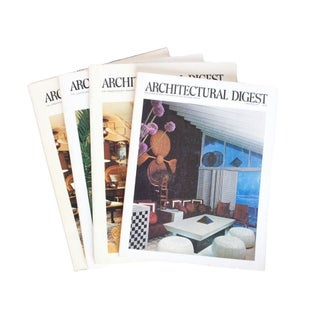 Vintage Architectural Digest 1970s Bundle