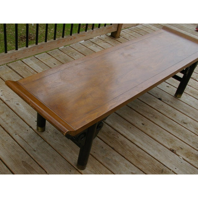 Baker Furniture Midcentury Japanese Low Table - Image 6 of 6