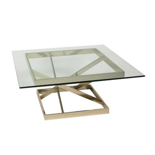 Intersecting Angles Coffee Table, 1990s