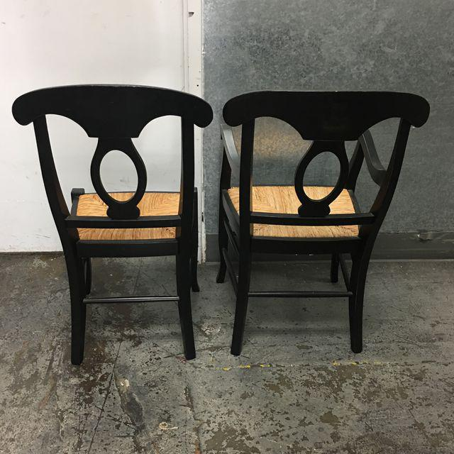 Pottery Barn Napoleon Dining Chairs - Set of 6 - Image 7 of 9