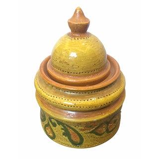 Vintage Aldo Londi for Bitossi Tobacco Jar