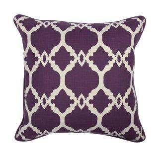 Moorish Plum Linen Pillow