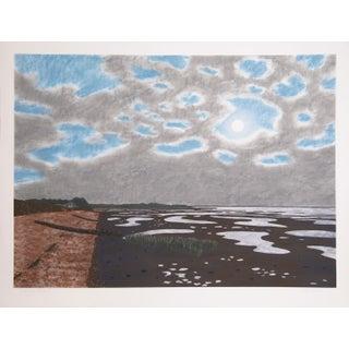 Bill Sullivan -Low Tide 18 Hand Colored Lithograph