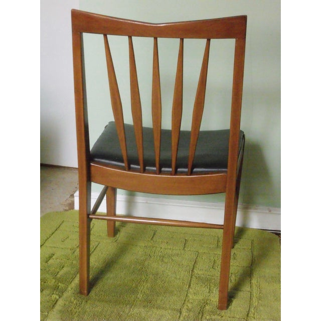 John A. Colby & Sons MCM Walnut Desk Chair - Image 4 of 8