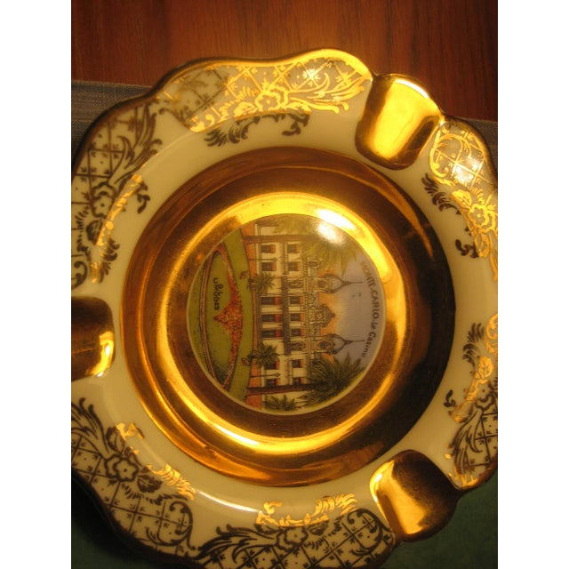 Collectible Vintage Limoges Monte Carlo Ashtray - Image 4 of 4