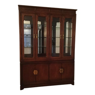 Thomasville Mystique II Oak China Cabinet