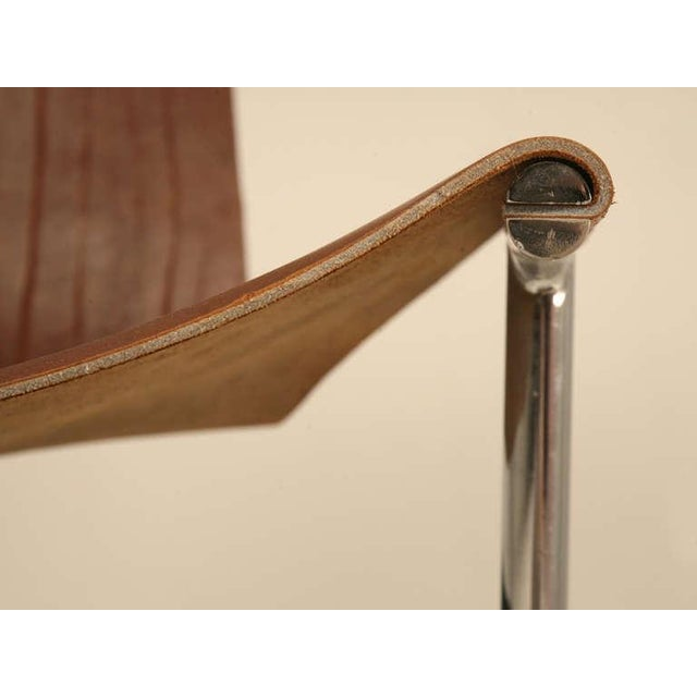 "Original Vintage ""T"" Chair by Katavolos, Kelly & Littell for Laverne International - Image 5 of 11"