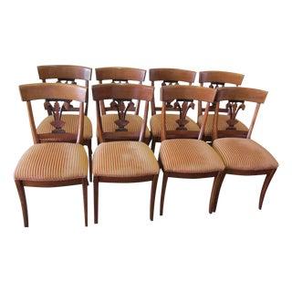 Roche Bobois Fleur De Lis Dining Chairs - Set of 8