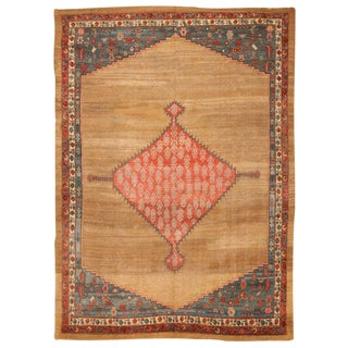 Exceptional Antique Early 19th Century Persian Bakshaish Carpet
