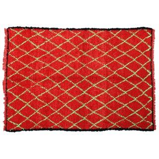 Moroccan Azilal Wool Rug - 7'9'' X 5'7''