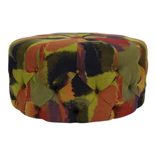 Pippin Multi-Colored Tufted Ottoman