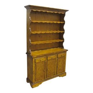 Vintage Sarreid LTD Pine Hutch