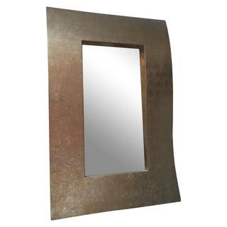 Cian Silver Wave Mirror