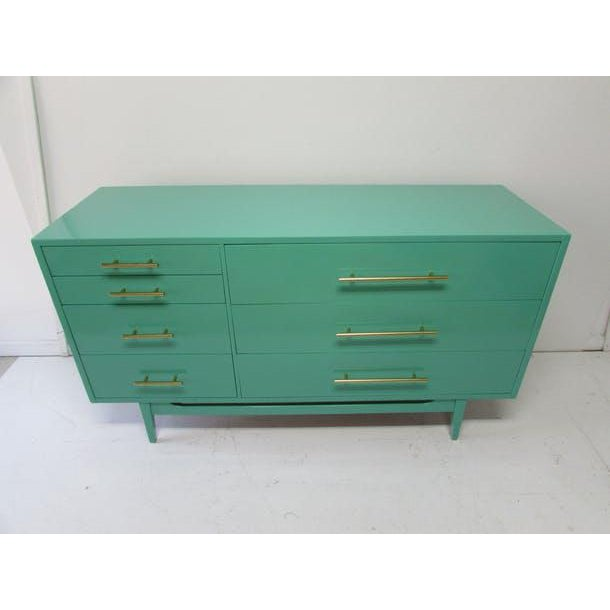 American of Martinsville Mid-Century Modern Credenza - Image 7 of 7