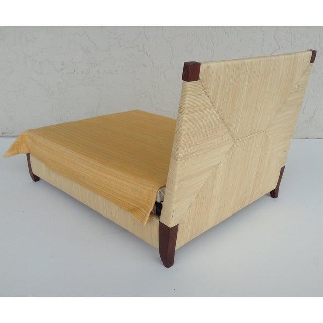 Donghia Merbau Bed Salesman Model/Sample - Image 4 of 8