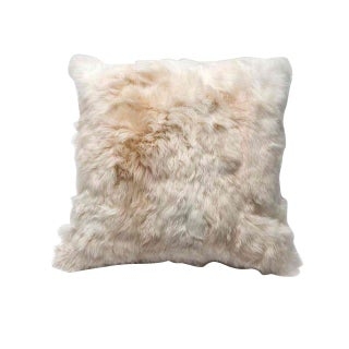 Alpaca Fur Throw Pillow