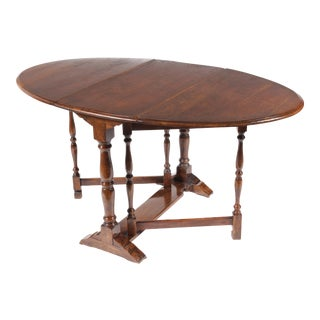 1930s English Gateleg Table