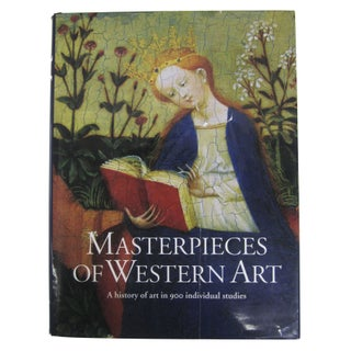 """""""Masterpieces Of Western Art"""" Book"""