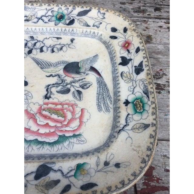 1870s Ashworth Ironstone Platter - Image 7 of 9