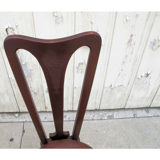 Civil War Piano Chair - Image 5 of 7