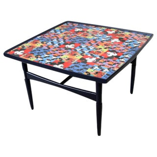 Mickey Mouse Mid-Century Coffee Table