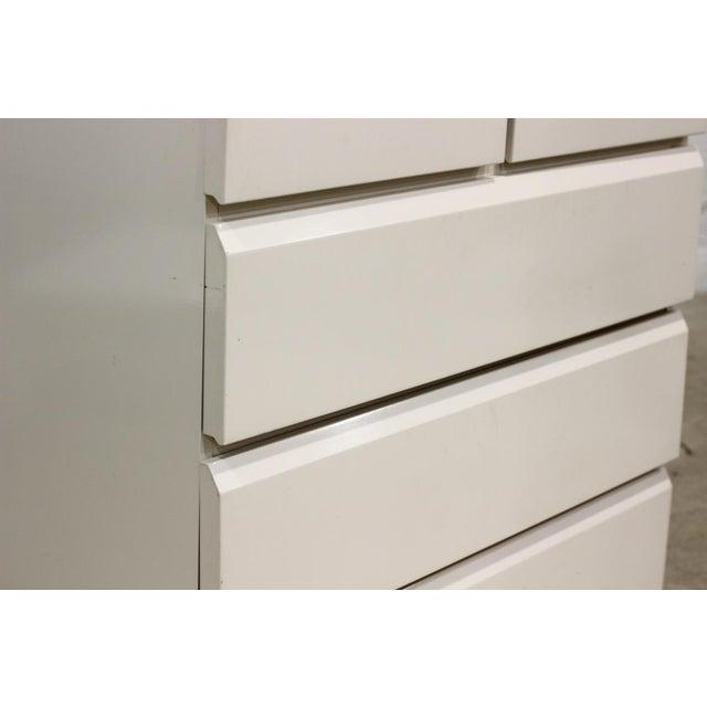 Image of Lane Vintage 1980s White Armoire