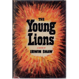 The Young Lions Book by Irwin Shaw