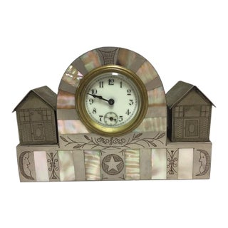 Antique Art Deco German Clock
