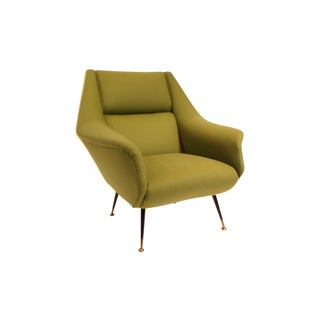 1950s Italian Arm Chair Attributed to Gio Ponti