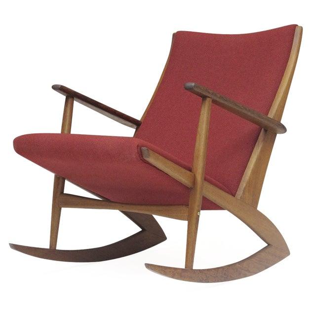 Georg Jensen Mid-Century Danish Rocking Chair - Image 1 of 9